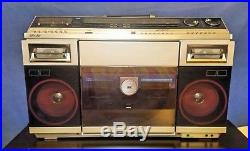 Sharp VZ-2000 Cassette/Radio Boombox / full size record player, VZ-2000H Vintage