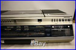 Sharp Vz-2000 Boombox Ghetto Blaster Turntable Record Player Cassette Radio Rare