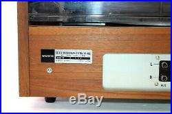 Sony HP-465 Vintage Stereo Phonograph System Record Player with Speakers Japan