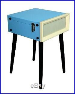 Steepletone Retro Vintage Style Record Player Turntable USB & Radio Legs