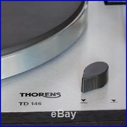 THORENS TD 146 Semi-Auto Full Suspension Turntable Record Player Deck. Guarantee