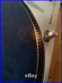 Technics 1200 SL-1200M3D DJ Turntable Record Player W Ortofon Needle & Matt