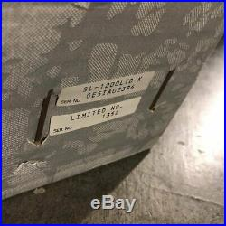 Technics SL-1200 LTD Turntable Audio Record Player Black Gold Never Used Rare