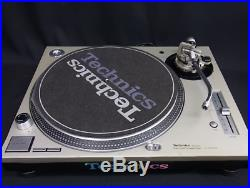 Technics SL-1200 MK3D Turntable Audio Record Player Tested Working