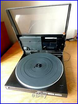 Technics SL-5 Linear Tracking Hi Fi Auto Turntable Record Player Good Condition
