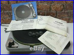 Thorens TD 124 MKII Vintage Idler Drive Vinyl Record Player Deck Turntable