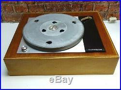 Thorens TD 150 MKII Vintage Vinyl Turntable Record Player Deck (NO TONEARM)