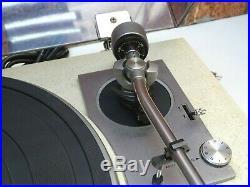 Trio KD-2055 Vintage 2 Speed Belt Drive Vinyl Turntable Record Player Deck