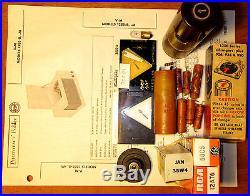 V-m Model 1285 Record Player V-m Ext. Spkr Tube Amp Elect/mech Restored Freeship
