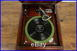 Victor 1920 Mahogany Victrola Wind Up Record Player Phonograph Model VV-X #31879