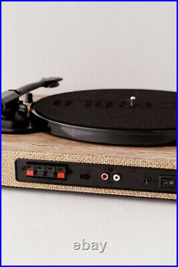 Victrola Hampton Wooden Bluetooth Turntable With 50W