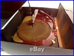 Vintage 1950's Zenith COBRA MATIC K666R Bakelite Phonograph Radio Record Player