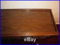 Vintage 1960's Magnavox Stereo Record Player Cabinet Model 1P3000