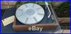 Vintage AR XB Turntable Record Player LP FOR Repair/Part Acoustic Research