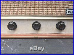 Vintage Dansette Conquest Auto Record Player for Restoration or Display