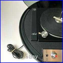 Vintage Electrohome Apollo 860 Record Player Space Age Mid Century Modern WORKS