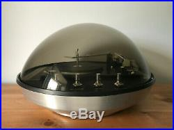 Vintage Electrohome Apollo 860 Record Player With Speakers Space Age Mid Century