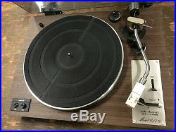 Vintage Marantz Model 6110 Belt-Drive Record Player Turntable Works Great