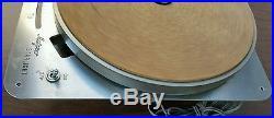 Vintage Robert Metzner Starlight C5B Turntable Record Player LP Works! Califone