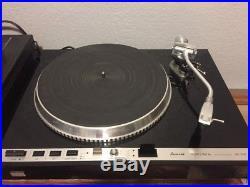 Vintage Sansui SR-838 Turntable Record Player Direct Drive Quartz Locked SV-43