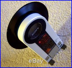 Vintage Sony PS-F9 Vertical Record Player Looks & Works Superbly Flamingo