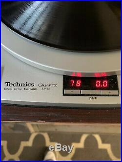 Vintage Technics Quartz Direct Drive Turntable SP-15 Record Player