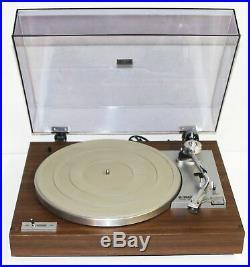 Vintage Yamaha YP-211 Turntable Record Player Wood Grain + Audio Technica Stylus