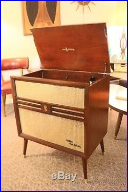 Vintage Zenith Cobra Matic Phonograph Record Player Mcm