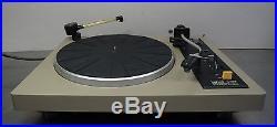 Vintage hifi record player Lenco L-133 belt drive turntable Plattenspieler
