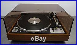 Vintage hifi turntable Record player belt drive Plattenspieler Dual 1249