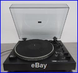 Vintage hifi turntable direct drive auto return record player Plattenspieler P60