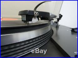 Vintage record player Akai AP-206C Plattenspieler manuell direkt drive turntable