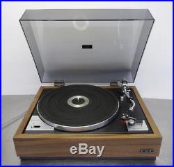Vintage record player Plattenspieler Hifi CEC BA 300 belt drive turntable