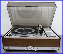 Vintage record player Siemens PW 346 Perpetuum Ebner PE 2020 Turntable 60er