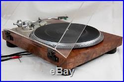 Vintage turntable Pioneer PL-518 DD Semi-auto record player