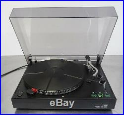 Vintage turntable record player Telefunken S 600 Hifi Ortofon Plattenspieler