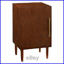 Vinyl Record Player Storage Table Turntable Stand Vinyls Albums Cabinet Modern