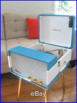 Vtg 50s 60s Magnavox Record Player Console Mid Century