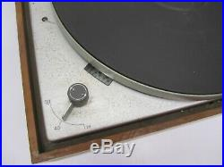 Vtg Braun German PS600 PS 600 Stereo Record Player Turntable 3 Speed Dieter Rams