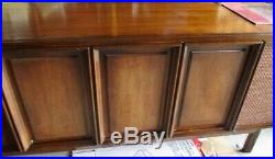 W RCA VICTOR Mid Century Modern Stereo Console Credenza Record Player #VLT-59-W