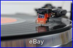 Wega P700 Plattenspieler Turntable Record Player gecheckt Quartz Direct Drive