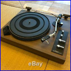 YAMAHA YP-511 Direct drive type record player turntable system audio LP