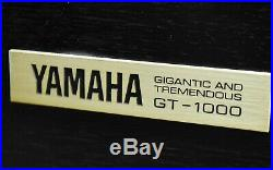 Yamaha GT-1000 Record Player Turntable in Excellent Condition